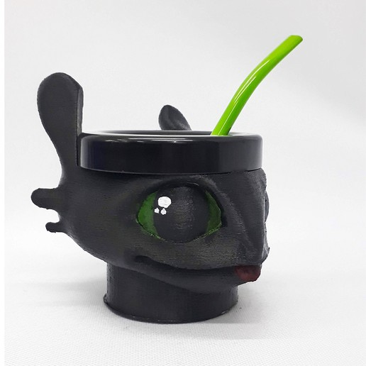 Download STL file Toothless Mate • 3D printable design, fantasyimpresiones