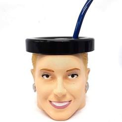 evita_frente.jpg Télécharger fichier STL gratuit Mate Eva Perón • Objet imprimable en 3D, fantasyimpresiones