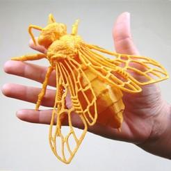 Descargar diseños 3D ABEJA OBRERA (Apis mellifera), ANHELS-Natura