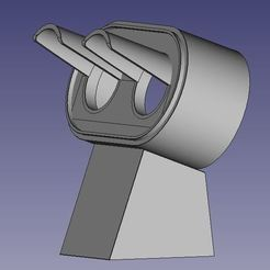 CV.JPG Download STL file Signal SNCF Purple square on the floor HO • 3D printer object, XTofvl
