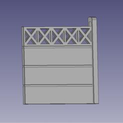 Barrière béton.PNG Download free STL file HO Concrete Barrier Bearing • 3D printable template, XTofvl