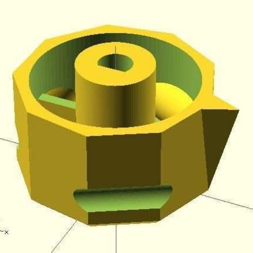 hob_knob.jpg Télécharger fichier SCAD gratuit Bouton de plaque de cuisson • Design pour imprimante 3D, Glutnard