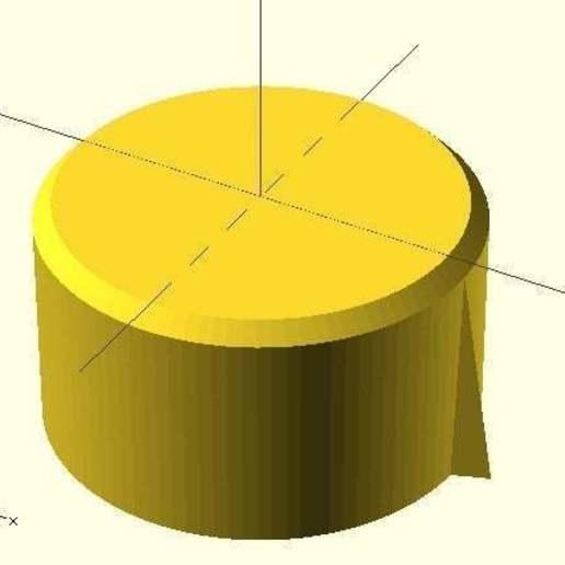 rounded.jpg Télécharger fichier SCAD gratuit Bouton de plaque de cuisson • Design pour imprimante 3D, Glutnard