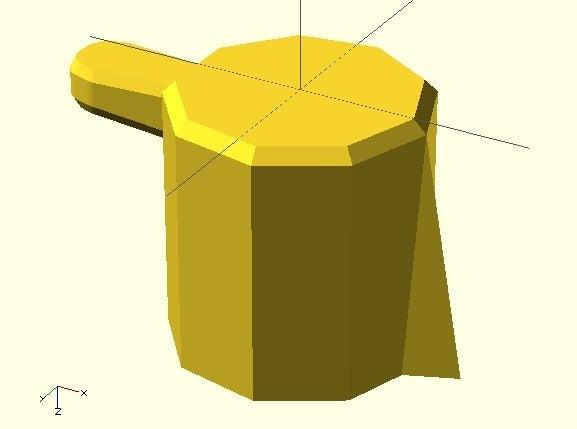 tall_tap.jpg Télécharger fichier SCAD gratuit Bouton de plaque de cuisson • Design pour imprimante 3D, Glutnard