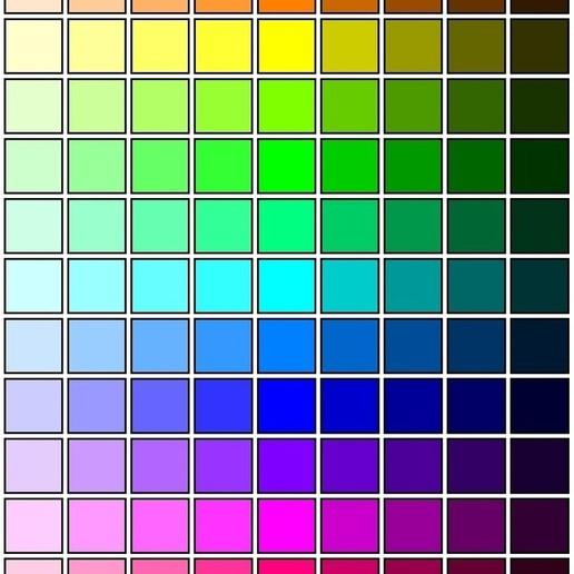 color_table.jpg Download free STL file RGB LED Coaster • 3D printing object, Glutnard
