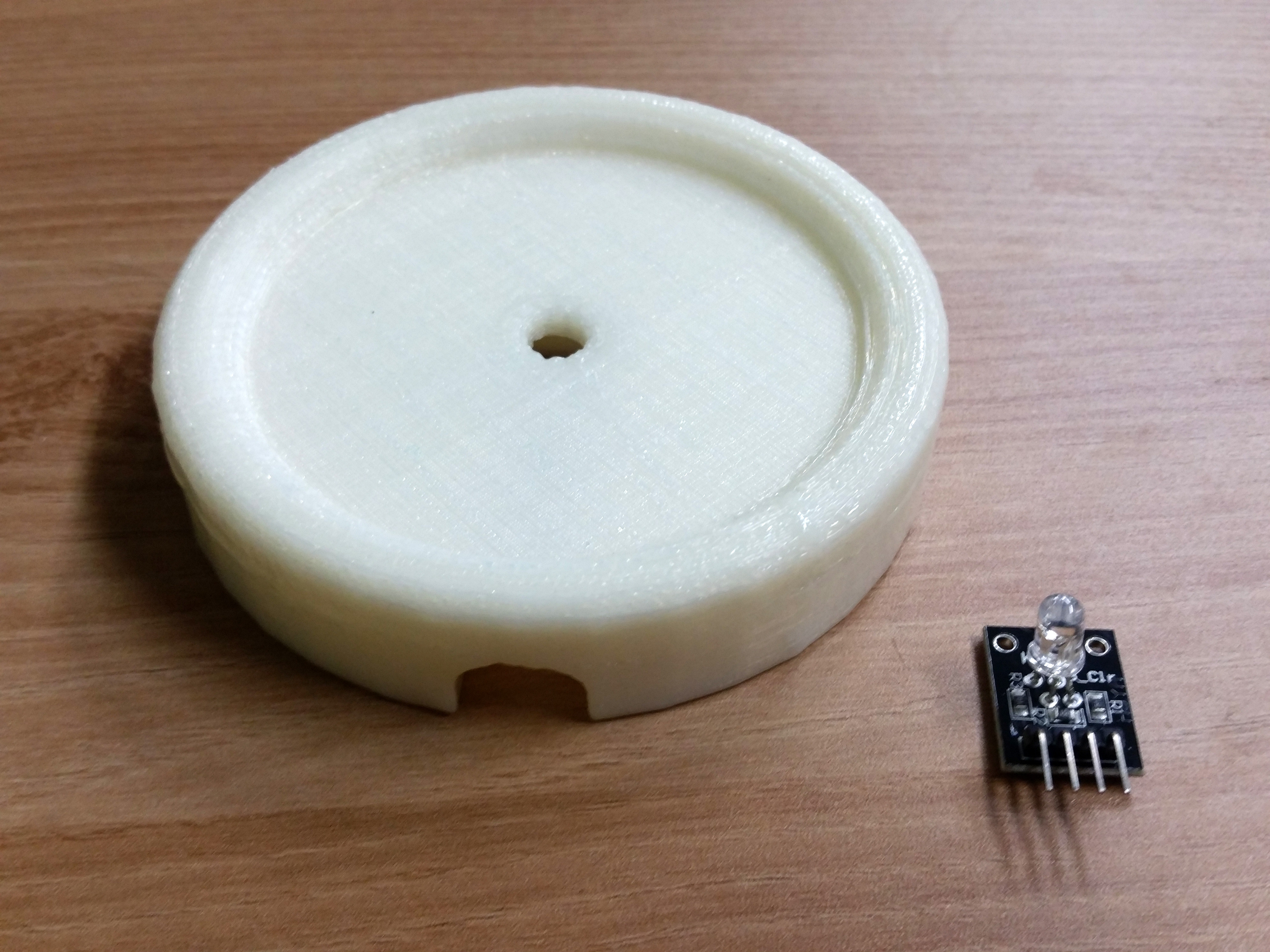 20141015_181938.jpg Download free STL file RGB LED Coaster • 3D printing object, Glutnard