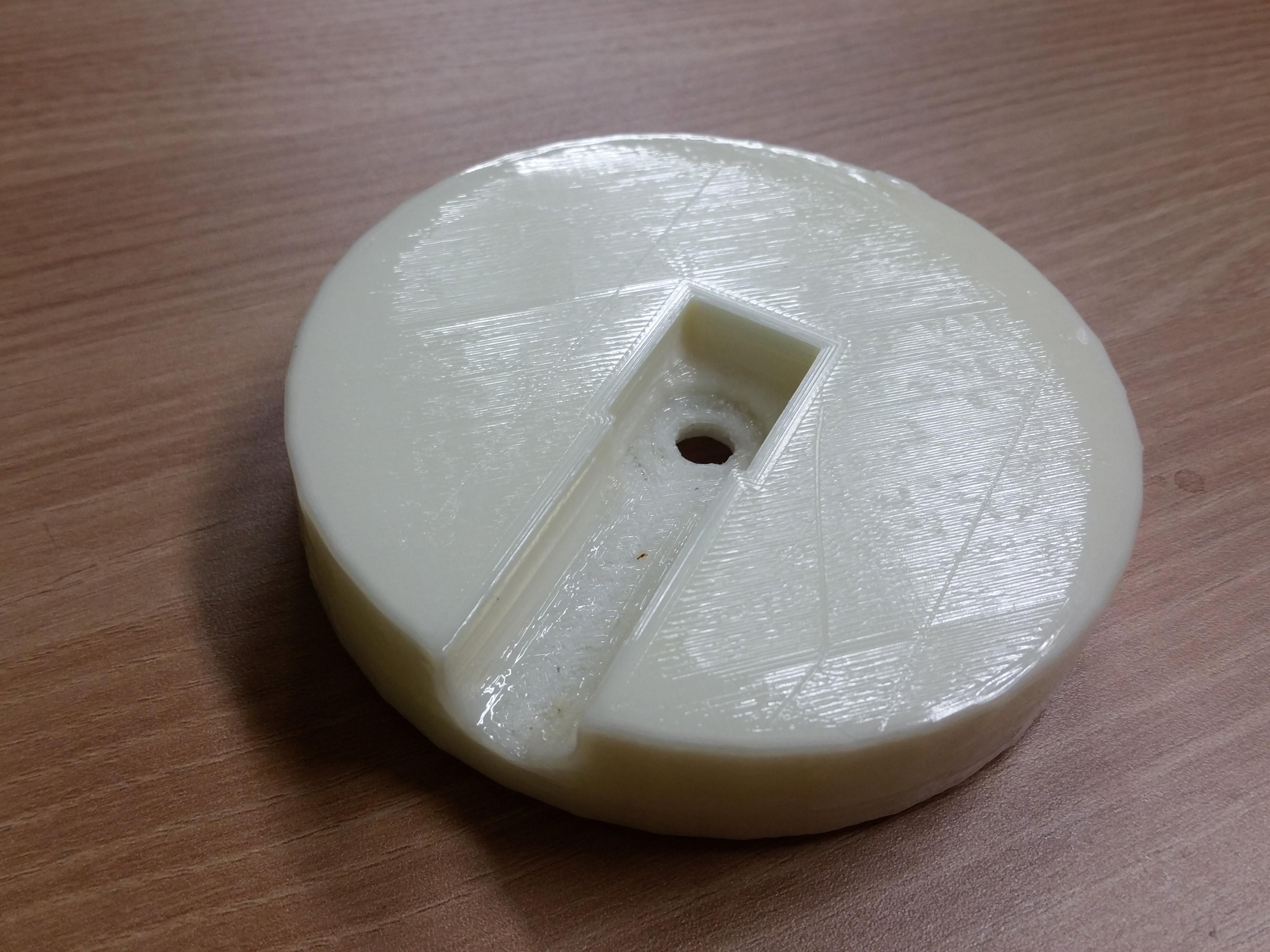20141015_181841.jpg Download free STL file RGB LED Coaster • 3D printing object, Glutnard