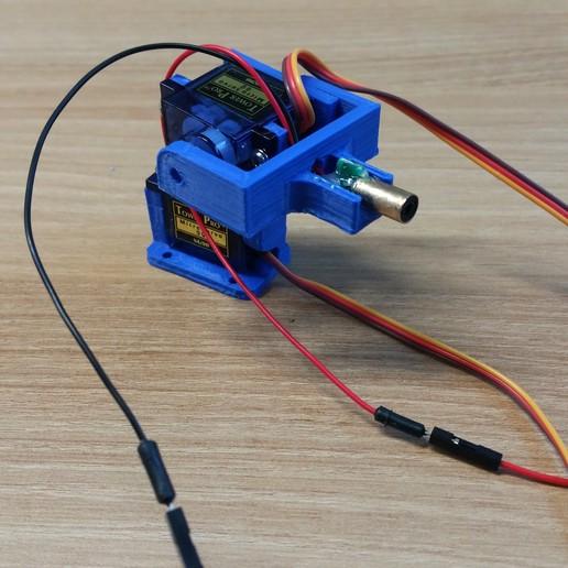 Télécharger fichier imprimante 3D gratuit Support de pistolet laser, Glutnard