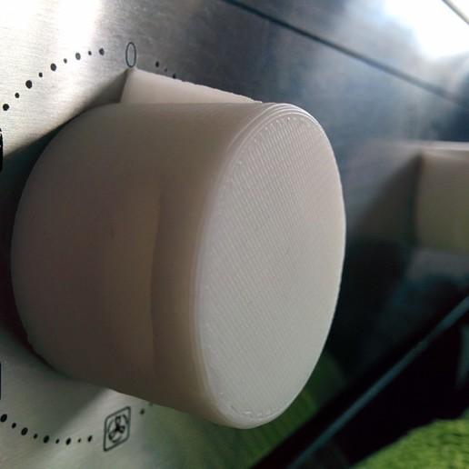IMG_20140814_181241.jpg Télécharger fichier SCAD gratuit Bouton de plaque de cuisson • Design pour imprimante 3D, Glutnard