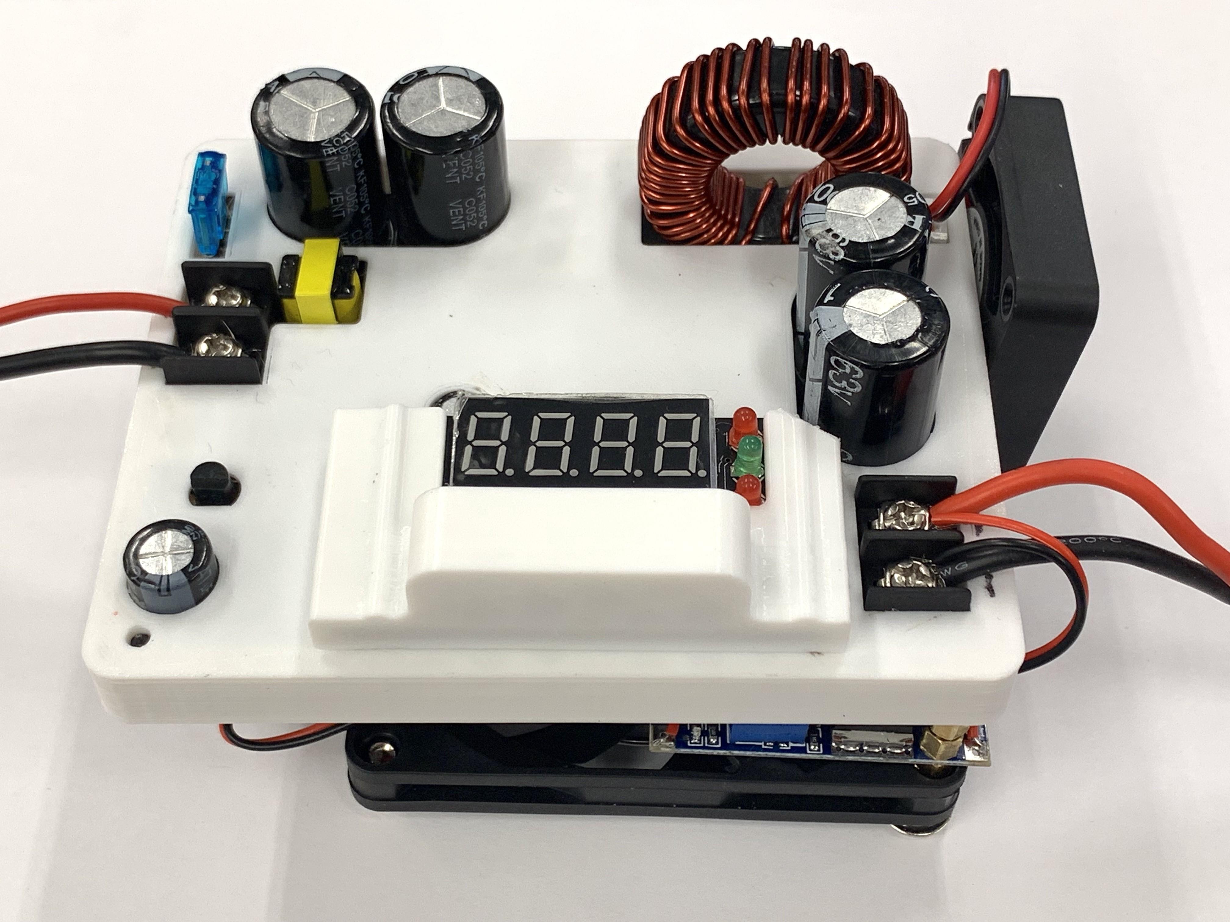 IMG_7679.jpg Download free STL file Case for Drok DKP6012 Buck Step-Down (60V 12A) • 3D printing model, Glutnard