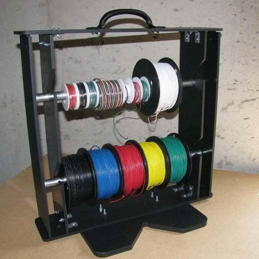 Download free 3D printer templates Laser Cut Wire Rack, Gaygwenn
