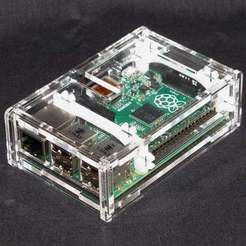 IMG_4292.jpg Download free STL file Raspberry Pi B+ Case • Model to 3D print, Gaygwenn