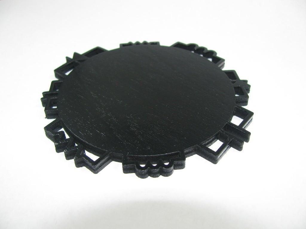 IMG_0121_display_large.jpg Download free STL file Circuit Inspired Coasters Pack 1 • Design to 3D print, Gaygwenn