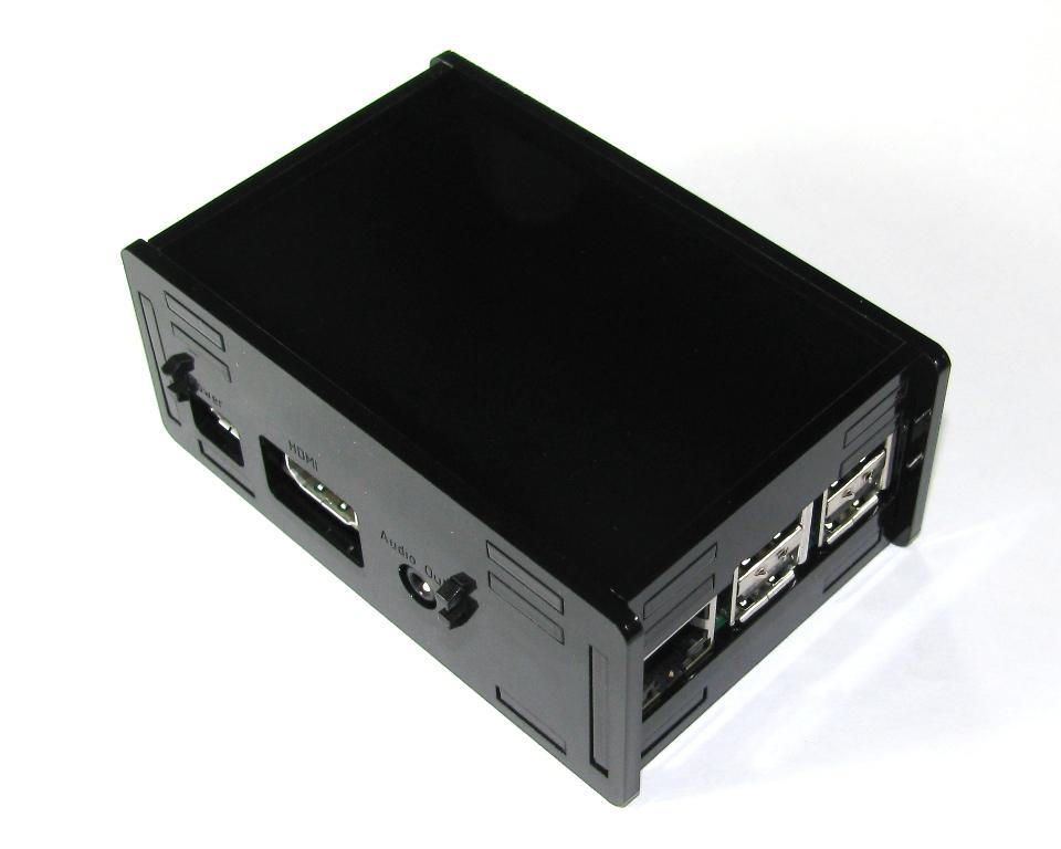 IMG_5014.JPG Télécharger fichier STL gratuit Étui noir Pi B+ Framboise Pi B • Objet à imprimer en 3D, Gaygwenn