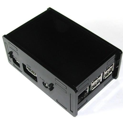 Télécharger fichier impression 3D gratuit Étui noir Pi B+ Framboise Pi B, Gaygwenn