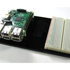 Download free STL Raspberry Pi A+/B+ Sled, Gaygwenn