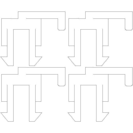 freedom-platform-sled-3_32in_delrin.jpg Download free STL file Freescale FRDM-KL25Z Sled • 3D printable design, Gaygwenn