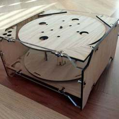 Download free 3D printing designs Filament Spindle v1.1, Gaygwenn
