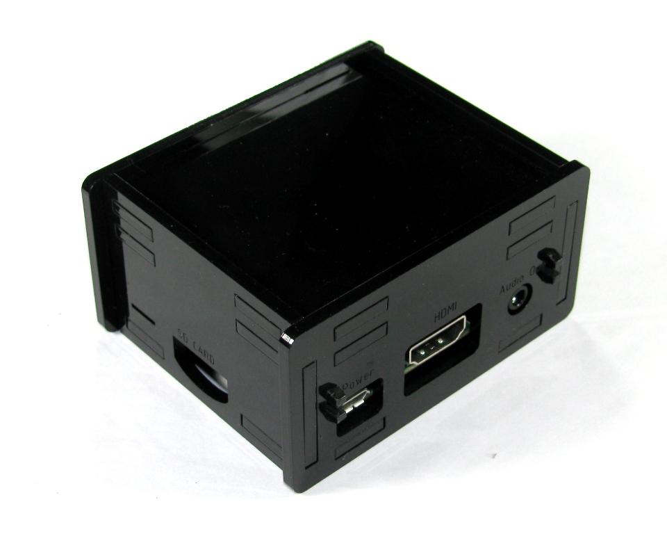 IMG_4631.JPG Télécharger fichier STL gratuit Étui noir Pi A+ Framboise Pi A • Objet pour imprimante 3D, Gaygwenn