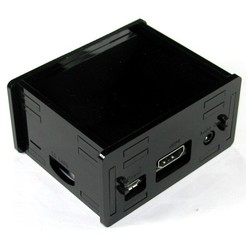 Download free 3D print files Raspberry Pi A+ Black Case, Gaygwenn