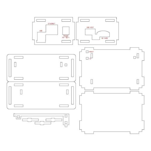 New_Beagle_Bone_Black_Case.png Download free STL file Updated BeagleBone Black Case • 3D printable design, Gaygwenn