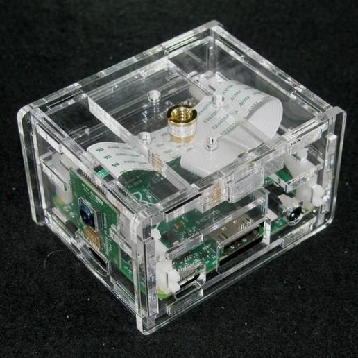 Télécharger plan imprimante 3D gatuit Appareil-photo Pi A+ de framboise de framboise, Gaygwenn