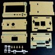 Download free 3D printing designs Raspberry Pi with Adafruit LCD Pi Plate Enclosure, Gaygwenn