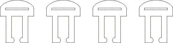 Clips-1-8th-Delrin.jpg Télécharger fichier STL gratuit Étui pour appareil photo Raspberry Pi • Objet à imprimer en 3D, Gaygwenn