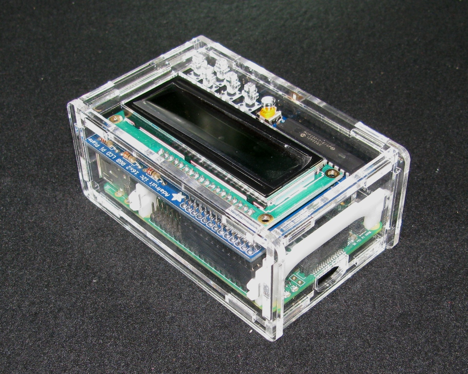 IMG_4911.JPG Download free STL file Raspberry Pi A+/B+ Adafruit LCD Case • 3D print template, Gaygwenn