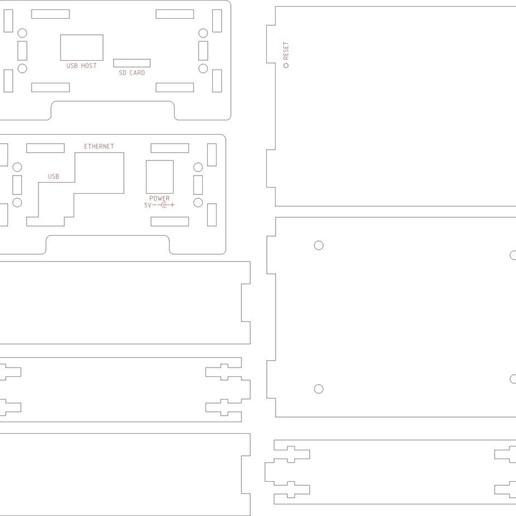 beaglebone_enclosure_display_large.jpg Télécharger fichier STL gratuit Boîtier BeagleBone • Plan imprimable en 3D, Gaygwenn