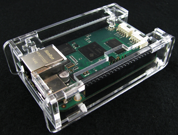 bbgassembled2.jpg Download free STL file BeagleBone Green Low Profile Case • 3D printer object, Gaygwenn