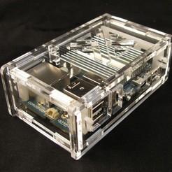 Télécharger fichier impression 3D gratuit Odroid U3 étui, Gaygwenn