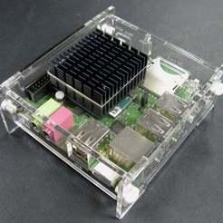 Télécharger fichier 3D gratuit ODroid-X2 Boîtier mince, Gaygwenn