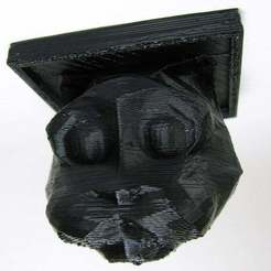ceiling_cat_resize_display_large.jpg Download free STL file Ceiling Cat! • Model to 3D print, Gaygwenn
