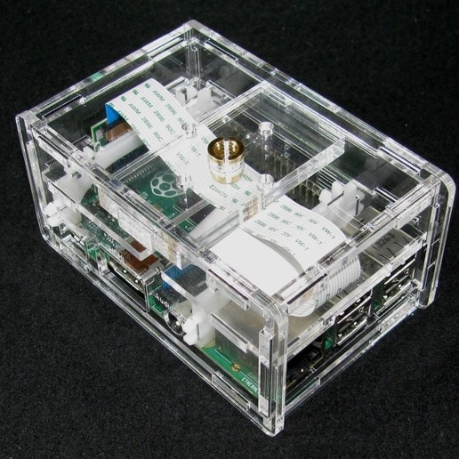 Download free STL files Raspberry Pi B+ Camera Case, Gaygwenn