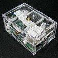 Télécharger fichier impression 3D gratuit Étui pour appareil photo Pi B+ Raspberry Pi B, Gaygwenn