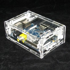 Descargar Modelos 3D para imprimir gratis Banana Pi Case, Gaygwenn