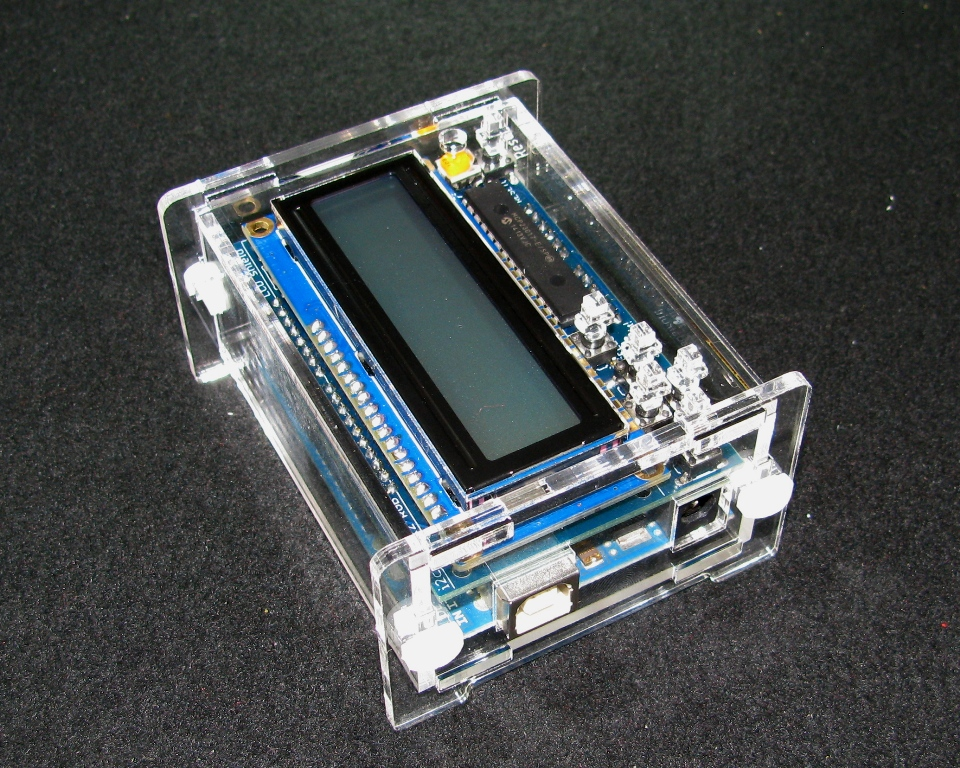 IMG_5059.JPG Download free STL file Arduino Adafruit LCD Shield Case • 3D printable object, Gaygwenn