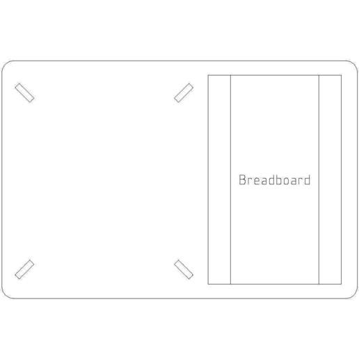 freedom-platform-sled-3mm-acrylic.jpg Download free STL file Freescale FRDM-KL25Z Sled • 3D printable design, Gaygwenn
