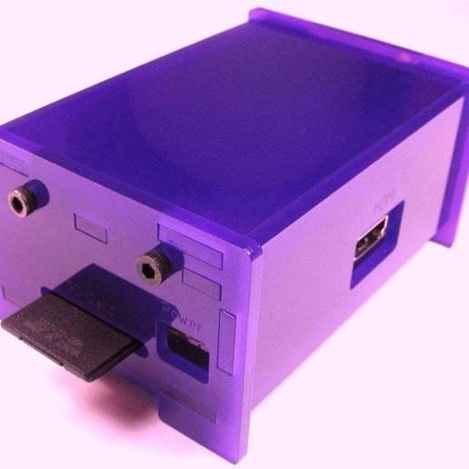 se-side-2_display_large.jpg Download free STL file Raspberry Pi Enclosure • 3D printing design, Gaygwenn