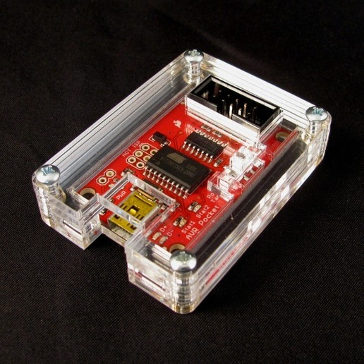 Download free 3D printer designs AVR Pocket Programmer Case, Gaygwenn