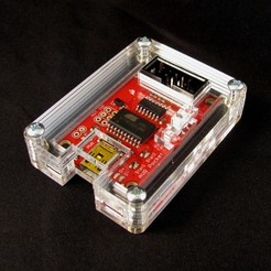 IMG_4501.JPG Download free STL file AVR Pocket Programmer Case • 3D print object, Gaygwenn