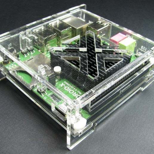Download free 3D printer designs ODROID-X Slim Enclosure, Gaygwenn