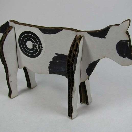 Download free STL file LASER COWS! • 3D printer object, Gaygwenn