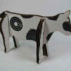 Download free 3D model LASER COWS!, Gaygwenn