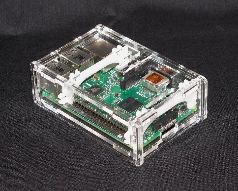 IMG_4293.jpg Download free STL file Raspberry Pi B+ Case • Model to 3D print, Gaygwenn