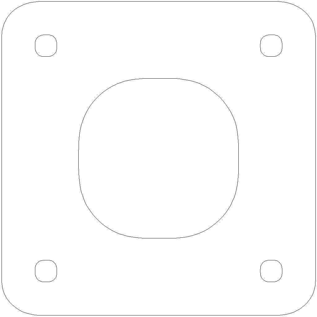 NEMA_17_stepper_gasket_display_large.jpg Download free STL file NEMA 17 Stepper Gaskets • 3D print template, Gaygwenn