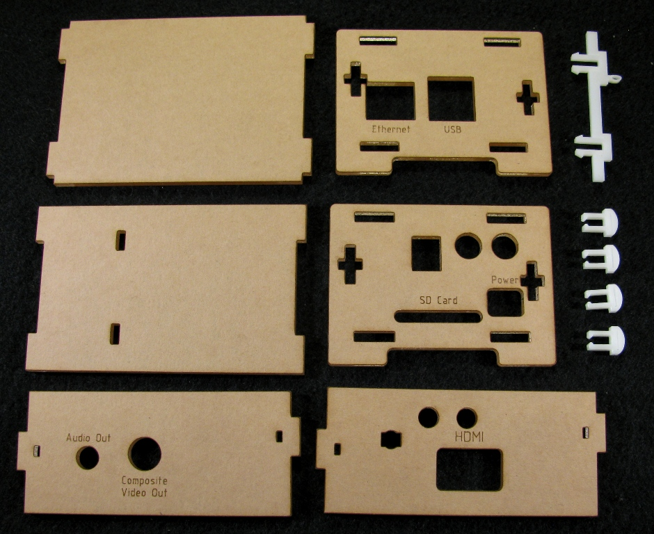 IMG_4547.jpg Download free STL file Wolfson Audio Raspberry Pi Plate Case • 3D printable model, Gaygwenn