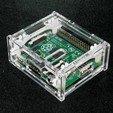 IMG_4681.JPG Download free STL file Raspberry Pi A+ Clear Case • 3D printing model, Gaygwenn