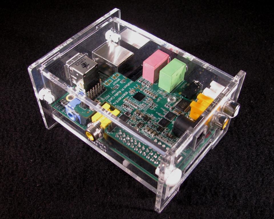 IMG_4584.jpg Download free STL file Wolfson Audio Raspberry Pi Plate Case • 3D printable model, Gaygwenn
